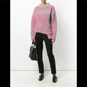 3.1 Phillip Lim contrast knitted sweater